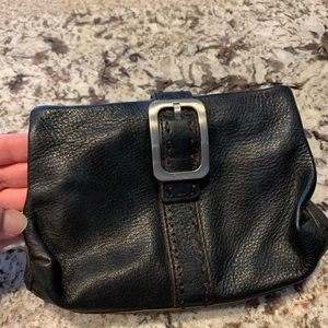 Cole Haan Leather Make up bag
